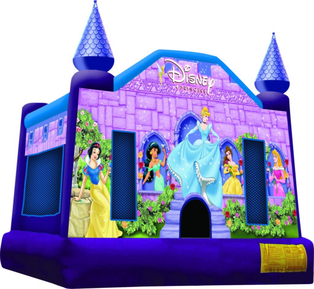 15x15 Disney Princess Bounce House Mike S Moonwalk Rentals